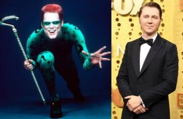 左は『バットマン・フォーエヴァー』でジム・キャリーが演じたリドラー - Warner Brothers / Photofest / ゲッティ イメージズ, Steve Granitz / WireImage / Getty Images
