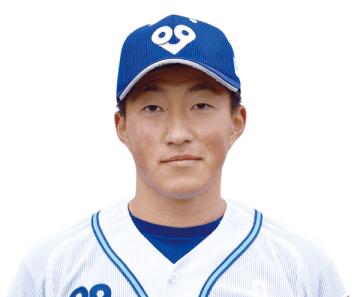 東北楽天から1巡目指名を受けた大阪ガスの小深田大翔選手(写真提供:大阪ガス)