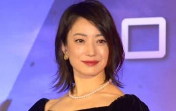 映画「ジェミニマン」のジャパンプレミアに登場した菅野美穂さん