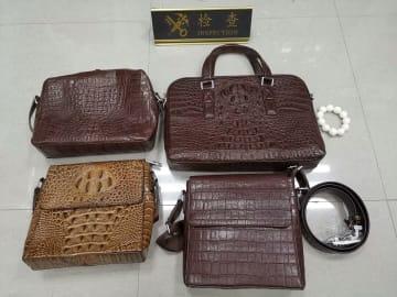 揚州税関、絶滅危惧種野生動物の製品を複数押収