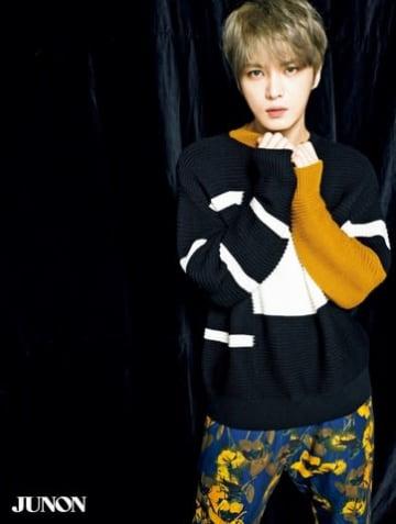 ジェジュン:「出かけるのは夜…」韓国と日本での過ごし方語る 「JUNON」12月号に登場