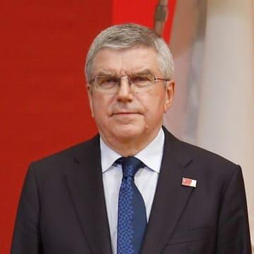 国際オリンピック委員会(IOC)のバッハ会長