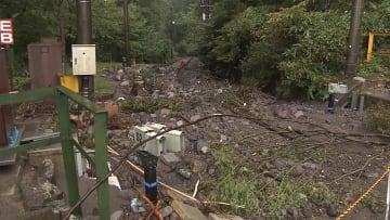 箱根 観光に打撃 復旧遠く 登山鉄道は十数カ所で被害