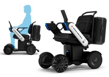 導入される次世代型電動車いすのイメージ。(画像: JALの発表資料より)