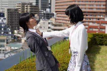 連続ドラマ「同期のサクラ」第3話のワンシーン=日本テレビ提供