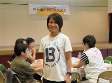 熊本地震の被災者支援を続けるバルビーの岳中美江さん
