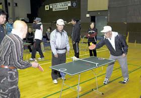 軽スポーツを楽しむ参加者