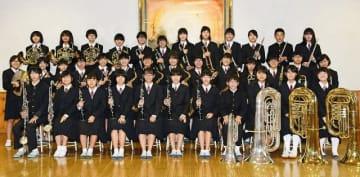 ウィーン・フィル&サントリー音楽復興祈念賞を受賞した明洋中学校吹奏楽部