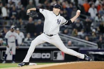 6回1失点と好投したヤンキースのジェームス・パクストン【写真:Getty Images】