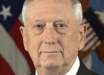Former Defense Secretary James Mattis