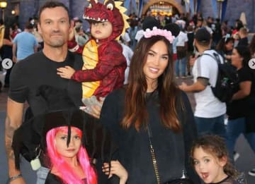 Megan Fox Shares Photos Of Sons Noah, Bodhi & Journey With Brian Austin Green On Disneyland Vacation