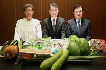 紅豚やナーベラー…沖縄食材が高級中華に 27日まで赤坂璃宮でフェア