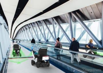 WHILL自動運転システムを使って空港で試験走行を実施へ