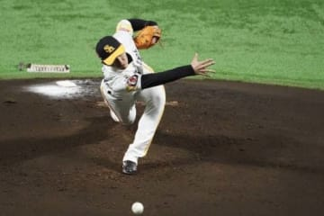 ソフトバンク・高橋礼【写真:荒川祐史】