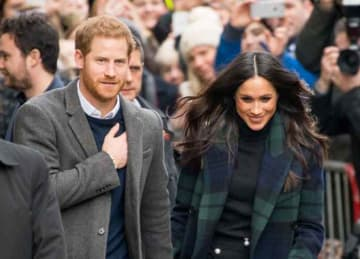 Prince Harry and Meghan Markle visit Social Bite, a Collaborative Movement to End Homelessness in Edinburgh