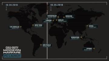 PC版『CoD:MW』ローンチ時間が公開!日本では25日午前10時から