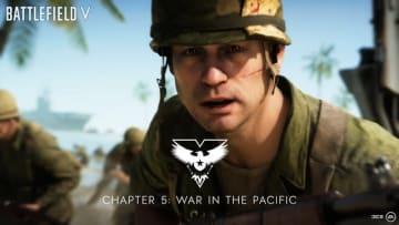太平洋戦線描く『バトルフィールドV』チャプター5のトレイラーが近日公開! 予告映像披露
