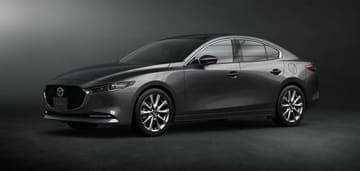 Mazda3セダン(画像: マツダの発表資料より)