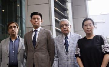 Philip Khan, Jeremy Tam, Mohan Chugani, Phyllis Cheung. Photo: Inmediahk.net.