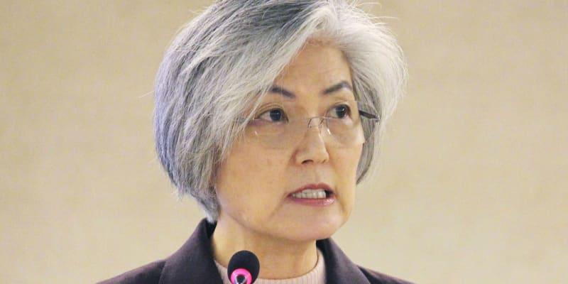 【国連人権理】韓国外相、慰安婦問題「被害者中心の視点を欠いていた」 未解決との認識を改めて示す